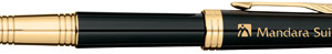 Parker Premier Fountain Pen with Custom Laser Engraving
