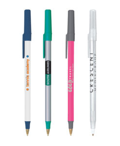 Bic Round Stic Pens with your custom logo