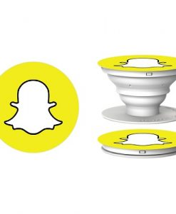Popsocket-with-Snapchat-logo
